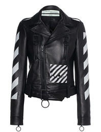 OFF-WHITE C/O VIRGIL ABLOH Diag Biker Black