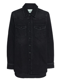 OFF-WHITE C/O VIRGIL ABLOH Cherry Denim Shirt Vintage Black
