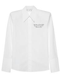 OFF-WHITE C/O VIRGIL ABLOH Popeline Shoulder Pads White