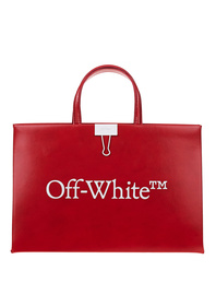 OFF-WHITE C/O VIRGIL ABLOH Box Bag Medium Red