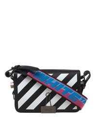 OFF-WHITE C/O VIRGIL ABLOH Mini Flap Logo Strap Black