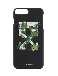 OFF-WHITE C/O VIRGIL ABLOH iPhone 7 Plus Label Black