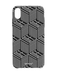 OFF-WHITE C/O VIRGIL ABLOH Monogram iPhone XS Max Black