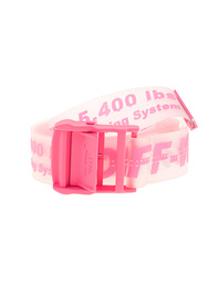 OFF-WHITE C/O VIRGIL ABLOH Rubber Industrial Transparent Pink