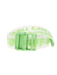OFF-WHITE C/O VIRGIL ABLOH Rubber Industrial Transparent Brilliant Green