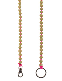 INA SEIFART Wooden Pearls Yellow Pink