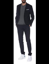NEIL BARRETT Slim Suit Navy