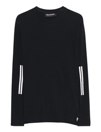 NEIL BARRETT Longsleeve Stripe Black