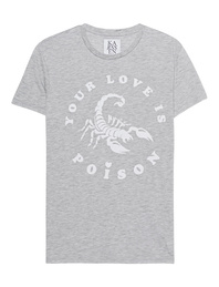 ZOE KARSSEN Your Love Is Poison Heather Grey