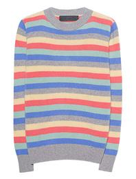 The Elder Statesman Inch Stripe Sweater Multicolor