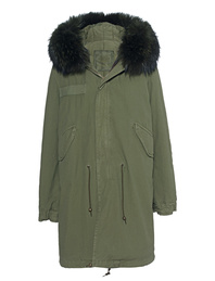 MR & MRS ITALY Parka Long Army