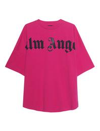 Palm Angels Front Logo Oversize Pink