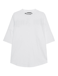 Palm Angels Classic Logo Over White