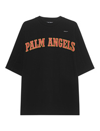Palm Angels College Oversize Shirt Black