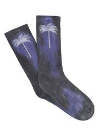 Palm Angels Palm Socks Purple