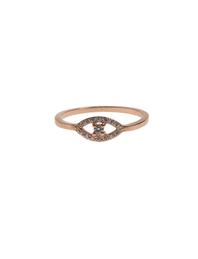 Priyanka Eye Rhinestone Gold