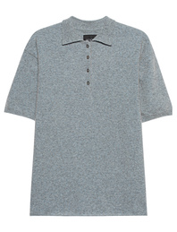 JADICTED Cashmere Polo Pastel Blue