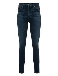 AG Jeans Farrah Skinny Ankle Blue