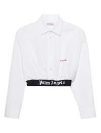 Palm Angels Classic Crop White