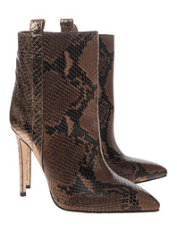 PARIS TEXAS Snakeprint Camel Gold
