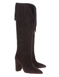 PARIS TEXAS Western Fringe Darkbrown