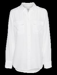 EQUIPMENT Slim Signature Bright White