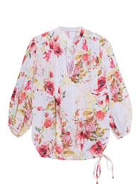 120% LINO Blouse Floral Multicolor