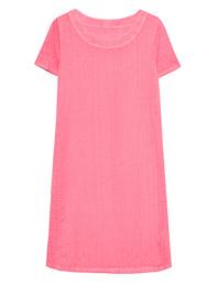 120% LINO Shirt Dress Hibiscus