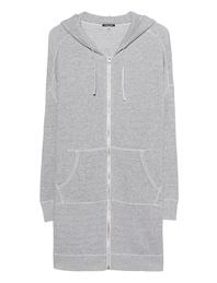 R13 Oversize Zip Grey