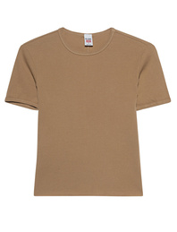 RE/DONE 90s Ripped Cap Sleeve Sand