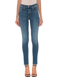 RAG&BONE High Rise Skinny Blue