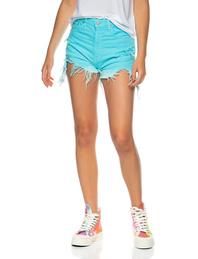 DENIMIST Short Turquoise