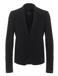 RICK OWENS Short Soft Blazer Black
