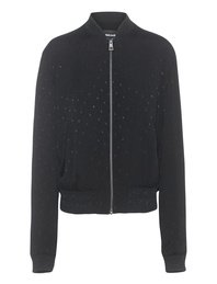 JUST CAVALLI Bomber Pink Lady Black