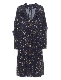JUST CAVALLI Gold Dots Navy