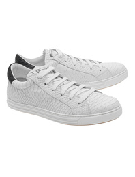 DSQUARED2 Snake Tennis Club Bianco Nero
