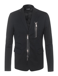 DSQUARED2 Zip Detail Black