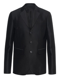 DSQUARED2 Blazer Frayed Black