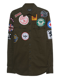 DSQUARED2 Patch All Over Olive