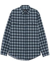 DSQUARED2 Untucked Checked Blue