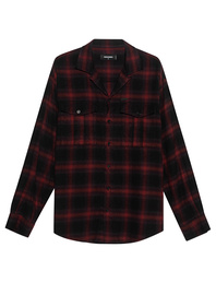 DSQUARED2 Checked Boyscout Shirt Red