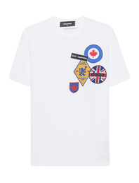 DSQUARED2 Patch White