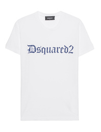 DSQUARED2 Cracked Logo White