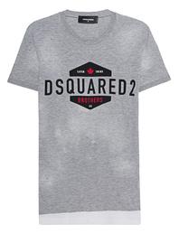 DSQUARED2 Logo Paint Grey