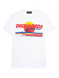 DSQUARED2 Heaven Cowboys Print White