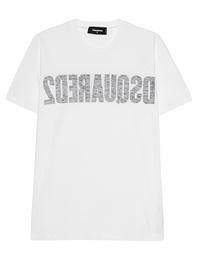 DSQUARED2 Reverse Logo White