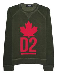 DSQUARED2 Sweater DSQ Olive