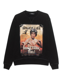 DSQUARED2 Sweater Bruce Lee Black