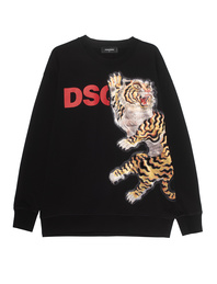 DSQUARED2 Tiger Sweater Black