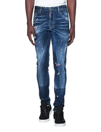 DSQUARED2 Cool Guy Flower Blue